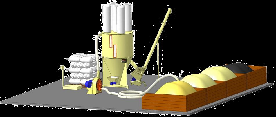 Комбикормовый мини завод АТМ-0,3